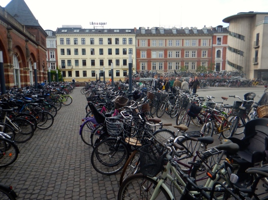 Now thats some bicycle parking!