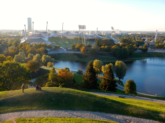 Highest Hill in Munich overlooking the Olympic Stadium