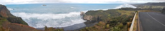 Overlooking Muriwai Beach