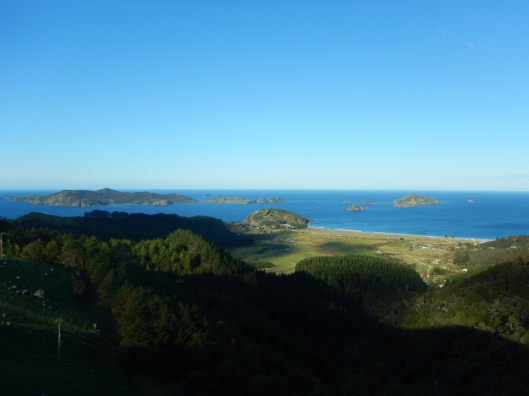 High above Matauri Bay. Just stunning