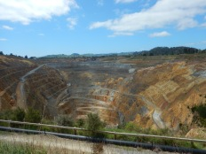 Martha Mine an open pit gold mine