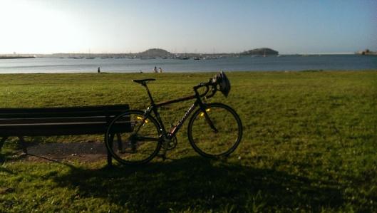 Roadie Loaner Bike. Thanks Hot Cycles!!
