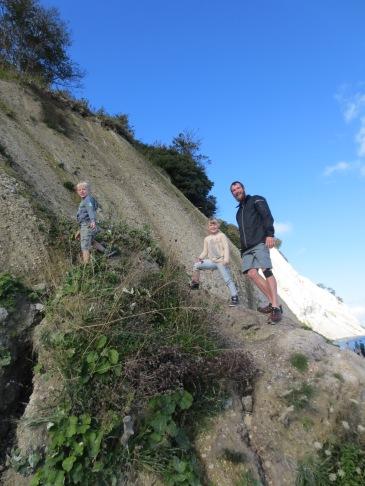 Just doing what kids do best! Climbing stuff