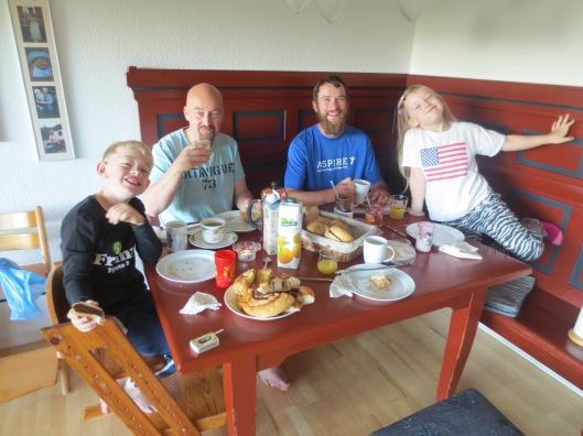 Marius, Anders, Me, Kirstine. Such a great family and I had a wonderful time!